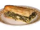 Σπανακόπιτα - Greek Spanakopita (Spinach and Cheese pie)