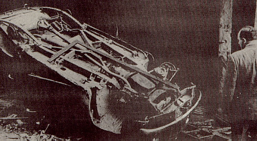 One of the many thousands of Hellenic vehicles in Constantinople destroyed by the Turkish mob.